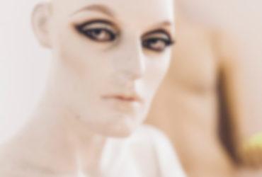 Un mannequin dans un salon cybernétique en Allemagne