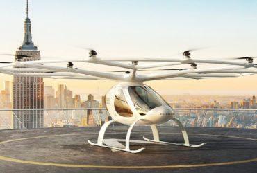 Volocity, le taxi volant de Volocopter, lors d'une simulation de vol