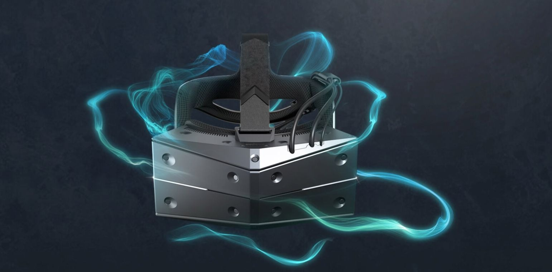 Un exemplaire du casque de réalité virtuelle VR StarVR One
