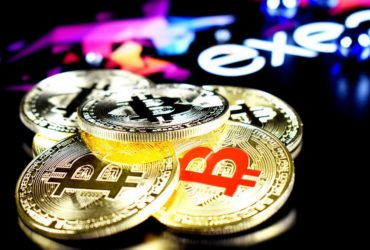 Des pièces de Bitcoin, l'une des cryptomonnnaies les plus connues.