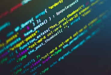 Du code en langage Python sur un écran d'ordinateur.