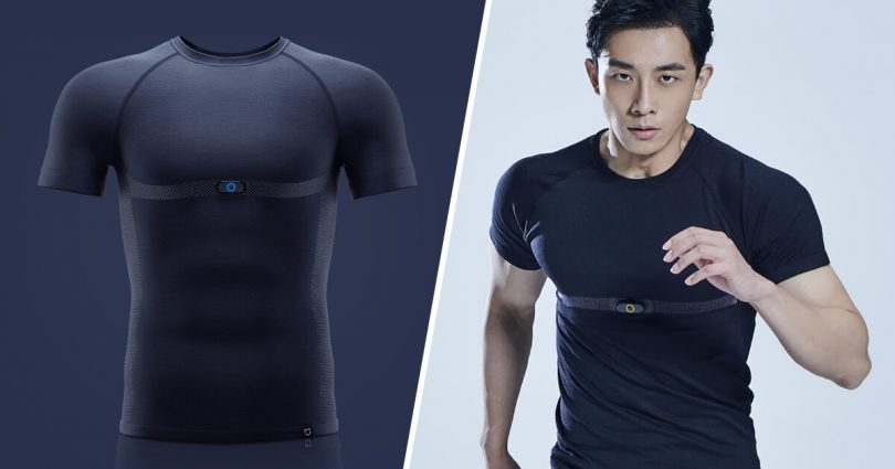 Le T-Shirt connecté Mijia Sports ECG de Xiaomi.
