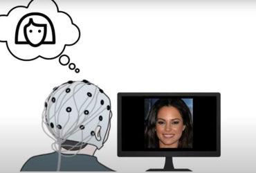 Des chercheurs de l'Université d'Helsinki (Finlande) ont développé une interface cerveau-machine capable de recréer des traits de visage imaginés par des volontaires. (Photo : groupe de recherches de l'Université d'Helsinki (Finlande)