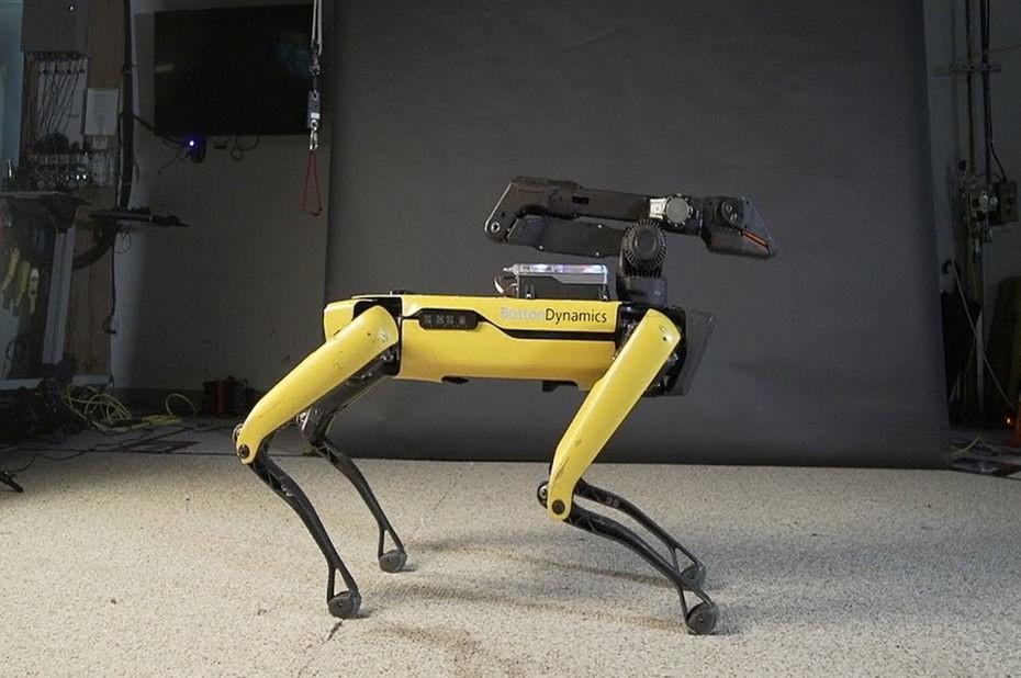 Spot, le robot quadrupède de Boston Dynamics.