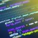 Du code en langage Python affiché sur un écran d'ordinateur.